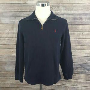 Polo Ralph Lauren Men's M 1/4 Zip Pullover Sweater